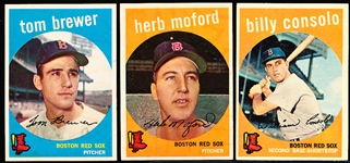 1959 Topps Bb- Boston Red Sox-12 Diff