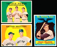 1959 Topps Bb- Boston Red Sox- 15 Diff