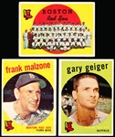 1959 Topps Bb- Boston Red Sox- 9 Diff