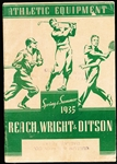 1935 Reach, Wright, and Ditson Athletic Equipment Spring and Summer Magazine