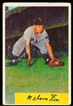 1954 Bowman Baseball- #6 Nellie Fox, White Sox