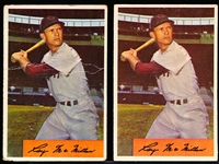 1954 Bowman Baseball- #12 McMillan- Both Variations