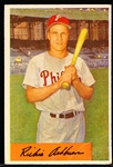 1954 Bowman Baseball- #15 Richie Ashburn, Phillies