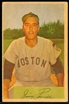 1954 Bowman Baseball- #55 Jim Piersall, Red Sox