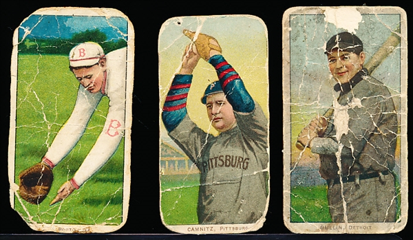 1909-11 T206 Bb- 3 Cards