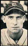 "1936 Goudey Wide Pen Premium- Type 3 – (Full Bleed)- Ervin ""Pete"" Fox, Detroit"