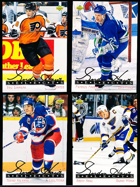"1992-93 Upper Deck Hockey ""Gordie Howe Selects""- 11 Asst. Cards"