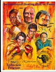 2007 International Boxing Hall of Fame Induction Program