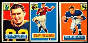 1956 Topps Fb- 6 Diff