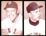 1947-66 Baseball Exhibits- 7 Diff