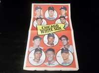 1969 Topps Team Poster- #11 Chicago White Sox