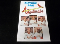 "1976 St. Louis Cardinals Fold-Out ""Picture Pak"""