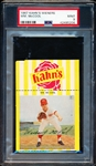 1967 Kahn's Baseball- Wm. McCool, Reds- PSA Mint 9- with top Ad tab.