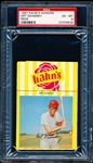 1967 Kahn's Baseball- Art Shamsky, Reds- PSA Ex-Mt 6 – with top Ad tab.