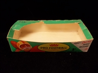 1961 Fleer Football- Wax Display Box Bottom- Series 2 (AFL)