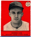 1941 Goudey Bb- #16 George Case, Senators- Red Color Version