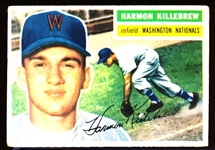 1956 Topps Bb- #164 Harmon Killebrew, Wash