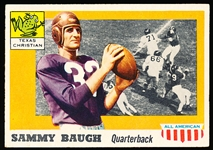1955 Topps All- American Football- #20 Sammy Baugh, TCU