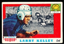 1955 Topps All- American Football- #26 Larry Kelley RC SP, Yale
