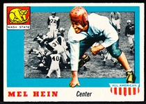 1955 Topps All- American Football- #28 Mel Hein RC SP, Washington State