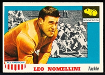 1955 Topps All- American Football- #29 Leo Nomellini SP, Minnesota