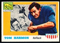1955 Topps All- American Football- #35 Tom Harmon RC SP, Michigan