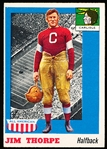 1955 Topps All –American Football- #37 Jim Thorpe, Carlisle
