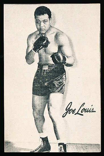 1947 Bond Bread Boxing- Joe Louis