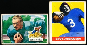 Two Diff Vintage Football Cards