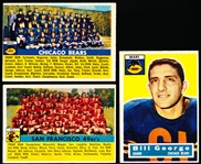 1956 Topps Fb- 3 Diff
