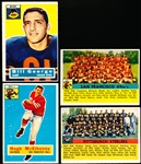 1956 Topps Fb- 4 Diff