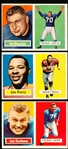 1957 Topps Fb- 3 Diff