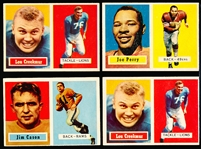 1957 Topps Fb- 4 Cards