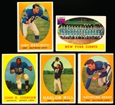 1958 Topps Fb- 5 Diff