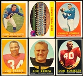 1958 Topps Fb- 6 Diff