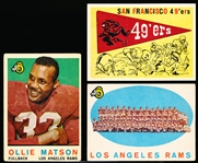 1959 Topps Fb- 8 Diff