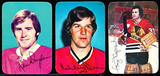 1976-77 Topps Glossy (Rounded Corner) Inserts- 50 Asst.