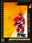 "1999-00 UD MVP SC Edition Hockey- ""Clutch Performers""- #CP4 Steve Yzerman, Red Wings- 2 Cards"