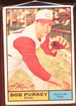 1961 Topps Bb- #9 Purkey, Reds- 9 Cards