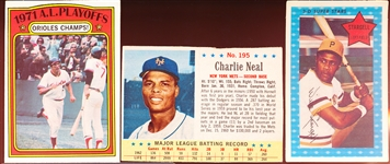 Six Older Baseball Cards