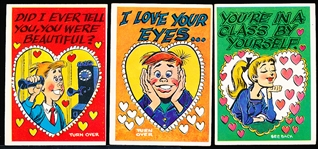 "1960 Topps ""Funny Valentine"" (R708-2b)- 29 Diff."