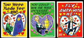 "1960 Topps ""Funny Valentine"" (R708-2b)- 19 Diff."