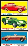 "1961 Topps ""Sports Cars"" (R714-29)- 16 Diff."