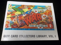 "1983 WTW Productions ""Gum Card Collectors Library, Vol. 1"" Horrors of War Softcover Book"